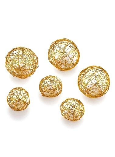 Brass Dekor 6 Parça Gold-The Mia